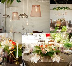 Wedding Inspiration: Reception Decor