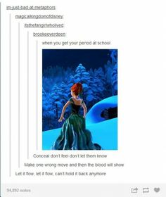 The cramps never bothered me anyway