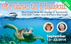 Stitchin' Heaven Travel: Cruise to Hawaii 2014 September 12 - 22, 2014