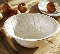 Juliette Serve Bowl | Pottery Barn - One can never have too many serving bowls! $78.15