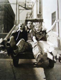 Carole Lombard, Fred MacMurray and Una Merkel