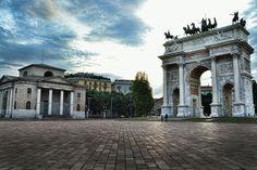 Piazza Sempione, Milano