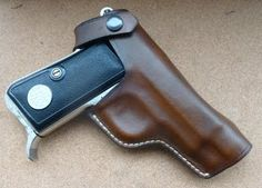 Beretta M1934 & 1935 custom holster  See my full range of custom hand made leather goods at www.makeitjones.co.uk