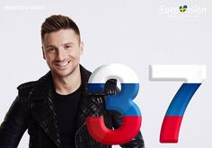 37 days until the 2016 #Eurovision Song Contest! @lazarevsergey will represent #Russia!