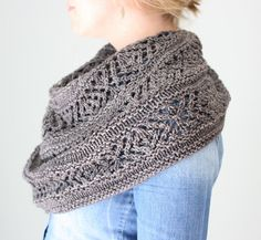 Ravelry: Adama pattern by Hilary Smith Callis. A cross between a shawl and cowl, using worsted weight yarn.