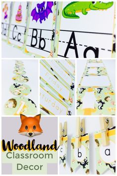 If you're in search for inspirational ideas to spruce up your elementary classroom - I think I can help you, and not break the bank in the process! This classy, modern, on a budget Woodland Classroom Décor theme can be a quick and easy way to instantly transform any primary classroom with it's pastel green and orange color scheme, and cute animals - what is there NOT to love?! If you're worried about organization - keep your classroom simply organized with the included editable, printable labe Classroom Decor Themes, Classroom Organization, Classroom Management, Classroom Ideas, First Grade Classroom, Primary Classroom, Kindergarten Worksheets, Math Activities, Orange Color Schemes