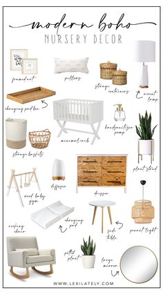 Boho Nursery, Baby Nursery Decor, Baby Decor, Nursery Modern, Nursery Room Ideas, Ikea Nursery, Rustic Nursery, Elephant Nursery, Small Nursery Rooms