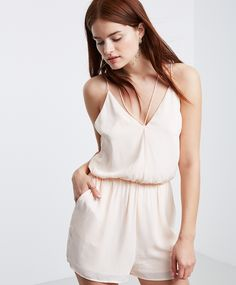 Playsuit with a low-cut back and thin shoulder straps | Gina Tricot New Arrivals | www.ginatricot.com | #ginatricot