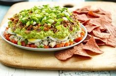 Recipe: Cobb Salad Dip. Good with Food Should Taste Good Blue Corn ...