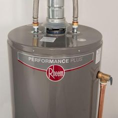 Rheem Performance Plus 50 Gal Tall 9 Year 40 000 Btu High Efficiency Natural Gas Water Heater Xg50t09he Natural Gas Water Heater Water Heater Gas Water Heater