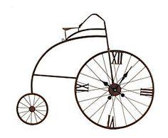 Reloj de pared Bicicleta