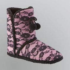 I love these they're are cute and keep my feet so warm! :) Got them at Sears for less than 10$ :]