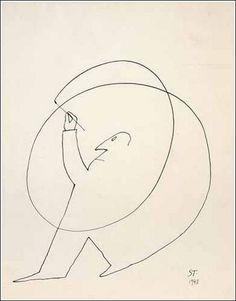 Saul Steinberg, Untitled, 1948