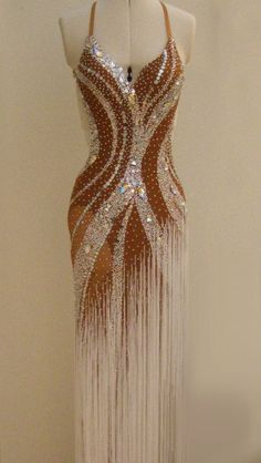 This long fringe dress is beautiful!! #danceRAL
