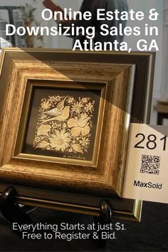 Online Estate and Downsizing Sales in Atlanta. Free to register and bid. Everything starts at $1.