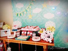 Decoração Festa do Pijama Corujinhas