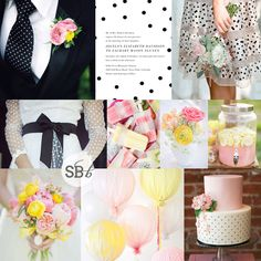 Inspiration Board: Just Dotty | SouthBound Bride
