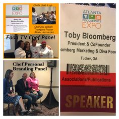 Had a blast moderating 2 panels with cool chefs. Food TV shows w/ chefs from shows Personal branding for chefs Food Tv Shows, Picture Of A Person, A Chorus Line, Tv Chefs, Personal Branding, Food Network Recipes, Marketing, Personal Identity