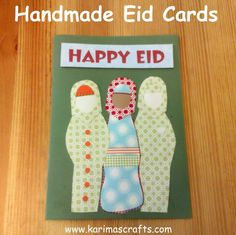 Day 9 - Designing Ramadan and Eid Cards Children love designing cards and what a better excuse than for them to make some for thei. Eid Crafts, Ramadan Crafts, Cute Crafts, Holiday Crafts, Faith Crafts, Muslim Holidays, Cultural Crafts, Ramadan Activities, Eid Party