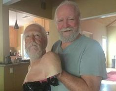 Scott Wilson - Hershel from The Walking Dead Walking Dead Tv Series, Walking Dead Zombies, Fear The Walking Dead, Scott Wilson, Best Zombie, Stuff And Thangs, Daryl Dixon, Best Shows Ever, Favorite Tv Shows