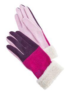 Morningside Handschuhe pink lila