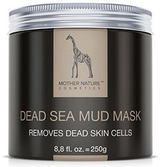 Totes Meer Schlamm Gesichtsmaske by Mother Nature - Pflege für trockene und unreine Haut - Reinigung bei Pickel – Mitesser – Akne - Anti-Aging Maske, 250 g #Mask #Cream Totes Meer, Dead Sea Mud, Anti Aging, Skin Cream, Mother Nature, Detox, How To Remove, Cosmetics, Mugs