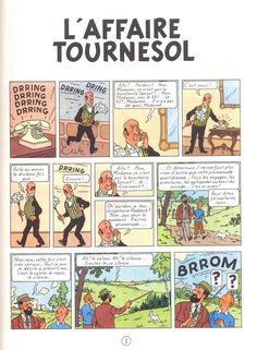 Tintin -18- L'affaire Tournesol