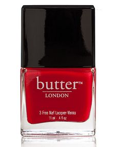 #butterlondon #red #nails