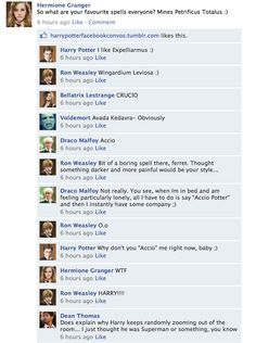 "drarryisawesome: ""Omg this cracked me up haha xD Source: http://harrypotterobsession.wordpress.com/author/madhavi7/page/4/ """