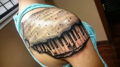 This one's a little different then what I normally do  black and grey piano with…