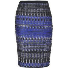 L.K. Bennett Limon Panelled Pencil Skirt