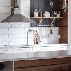 Se den fantastiske forvandling af interiørbloggerens eget køkken på marhebo.no ✔️