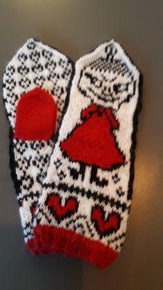 Knit Mittens, Mitten Gloves, Winter Hats, Beanie, Knitting, Tricot, Breien, Stricken, Weaving