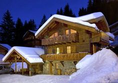Chalet Rachael La Tania - luxury ski chalet for catered chalet skiing, snowboarding and summer holidays in Three Valleys, France, Alpine Escape Skis For Sale, Luxury Ski Holidays, French Alps, Ski Chalet, Holiday Destinations, Luxury Travel, Skiing, France, Vacation