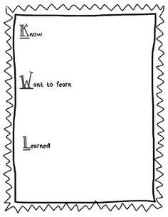Penguin Kwl Chart  KindergartenklubCom    Chart