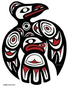 Pacific Northwest Raven Art