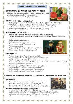 (3162) Входящие — Рамблер/почта Words To Describe, Teaching English Grammar, Learn English Words, Ielts, Writing Skills, Artist Names, Dark Backgrounds, Reading Comprehension, Artist Painting