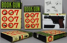 007 vintage toys | James Bond 1960 039 S Japan 007 WWW Walther P 38 Special Book GUN ...