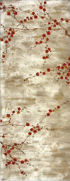 Our 'Plum Blossom' wallpaper from our Japanese and Korean collection