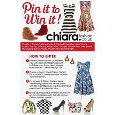 Chiara Fashion Pin it to Win it! found on Polyvore
