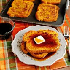 Pumpkin French Toast « Go Bold with Butter