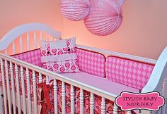 Great tutorial on how to make your own crib bedding!