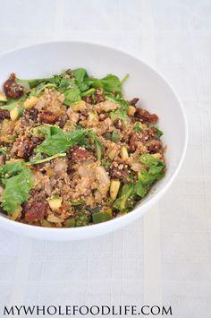 whole foods, sundri tomato, tomato salad, food life, food quinoa
