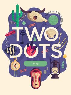 Illustration / Two Dots Title - Owen Davey Illustrationhttp://www.owendavey.com/Two-Dots-Title