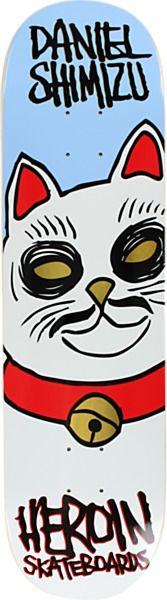 Heroin Big Cat Deck - new at Warehouse Skateboards! #SpringArrivals #Skateboards