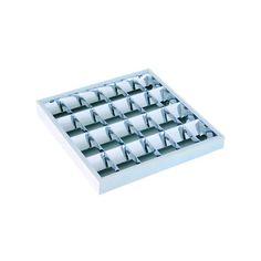DOWNLIGHTS : ΦΩΤΙΣΤΙΚΟ ΕΞΩΤΕΡΙΚΟ ΕΠΙΤΟΙΧΟ ΑΛΟΥΜΙΝΙΟΥ ΜΕ ΗΛΕΚΤΡΟΝΙΚΟ ΜΕΤΑΣΧΗΜΑΤΙΣΤΗ 4Χ18W N.147-56152 Led Tubes, Downlights, Computer Keyboard, Computer Keypad, Keyboard
