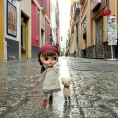 """I thought the rain in Spain stays mainly in the plain!"" by dollytreasures Tiny Dolls, Cute Dolls, Dream Doll, Hello Dolly, My Collection, Collector Dolls, Blythe Dolls, Beautiful Dolls, Fashion Dolls"