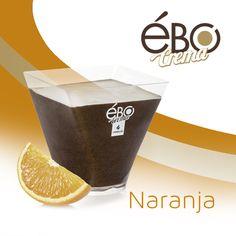 Ébo crema sabor chocolate a la naranja