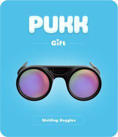 Pukk Welding Goggles Welding Goggles, Mirrored Sunglasses