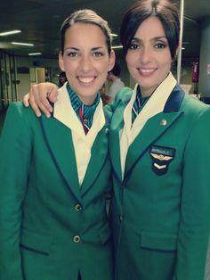 Alitalia cabin crew